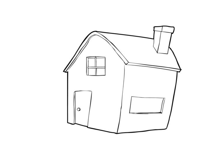 Haus zeichnung  Haus - Boden Immobilien